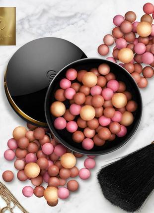 Новые румяна в шариках giordani gold bronzing pearls oriflame
