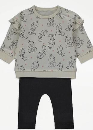 Костюм комплект для дівчинки набір кофта штани
