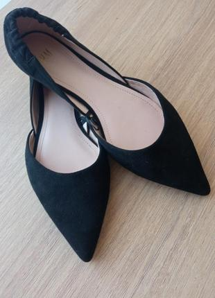 Туфли балетки h&m
