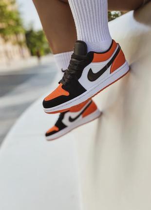 Кроссовки «jordan 1 low orange»