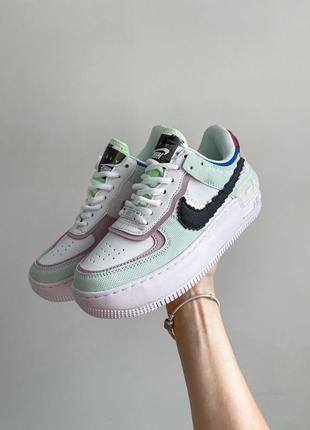 Nike air force shadow 1 пиксель кроссовки
