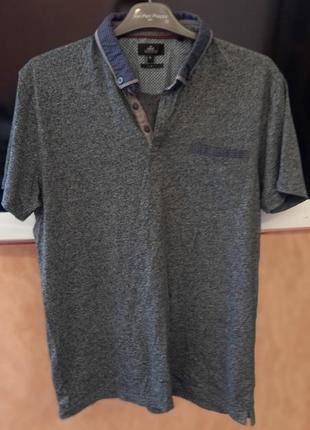 Zara футболка мужская поло