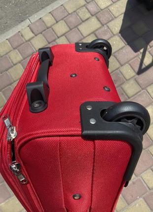 Акция !качественный чемодан на 2 колеса ,надёжный ,вместительный ,валіза ,дорожная сумка2 фото