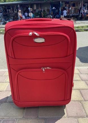 Акция !качественный чемодан на 2 колеса ,надёжный ,вместительный ,валіза ,дорожная сумка3 фото