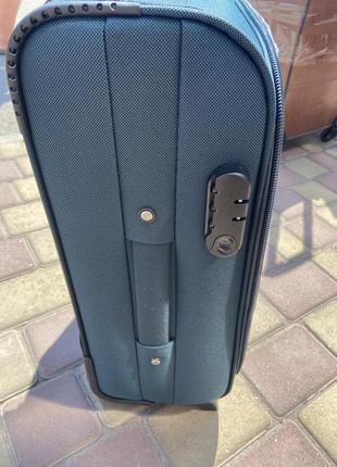 Акция !!!надёжный чемодан на 2 колеса,валіза ,вместительный ,дорожная сумка3 фото