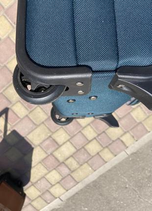 Акция !!!надёжный чемодан на 2 колеса,валіза ,вместительный ,дорожная сумка4 фото