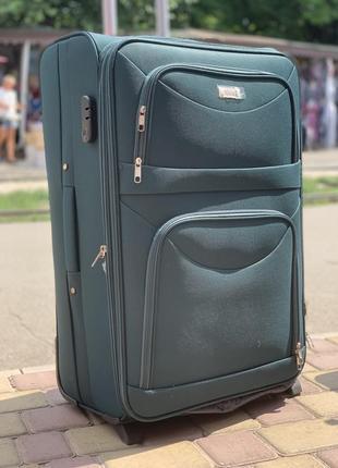 Акция !!!надёжный чемодан на 2 колеса,валіза ,вместительный ,дорожная сумка