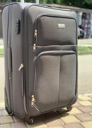 Акция !надежный чемодан на 4 колеса,качественный ,вместительный ,валіза ,дорожная сумка