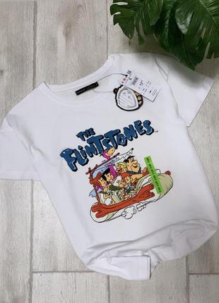 Новая футболка с флинстоунами