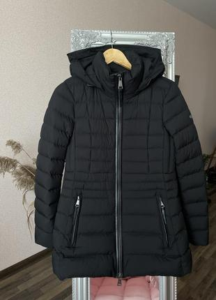 Massimo dutti пуховая куртка полупальто p.s