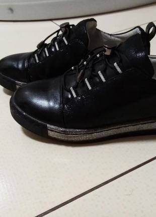 Закрытые туфли на девочку garstuk 35-36 р.
