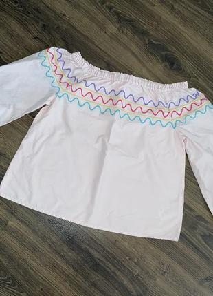 Блуза вышиванка вишиванка marks&spenser