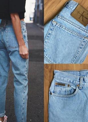 Джинсы calvin klein mom jeans винтаж оригинал