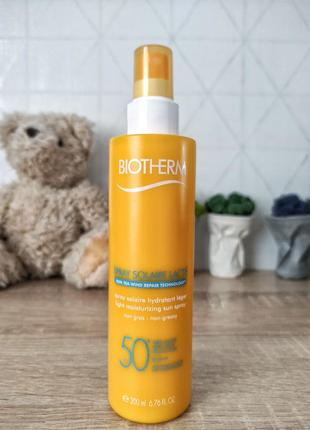 Biothermspray solaire lacté спрей spf50