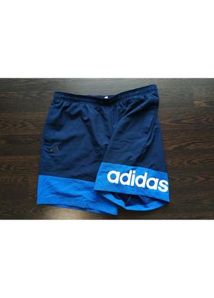 Спортивные шорты adidas новая колекция,с большим лого!