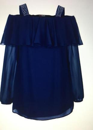 Элегантная блуза батал 54/56 miamoda
