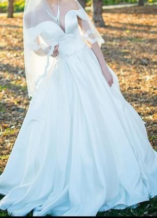 Шикарное свадебное платье 2021 года!