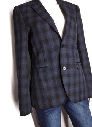 🛍️super sale -50%🛍️пиджак с мужского плеча в крупную клетку от new look size 38