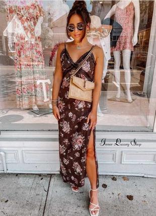 Изящный сарафан платье brock collection x h&m в бельевом стиле l/ хl