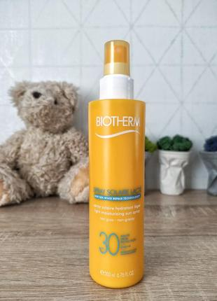 Biothermspray solaire lacté спрей spf30