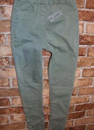 Новые джинсы джеггинсы девочке скинни 12 лет matalan