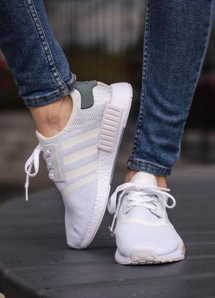 Кросівки adidas nmd r1 tactile green кроссовки