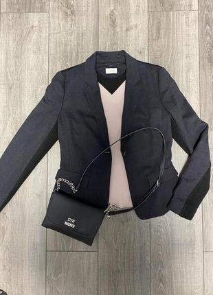 Брендовый пиджак жакет на одну пуговицу rene lezard оригинал