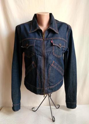 Куртка джинсовая levis, пиджак, жакет.