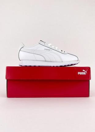 Puma roma white