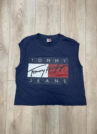 Майка tommy hilfiger jeans