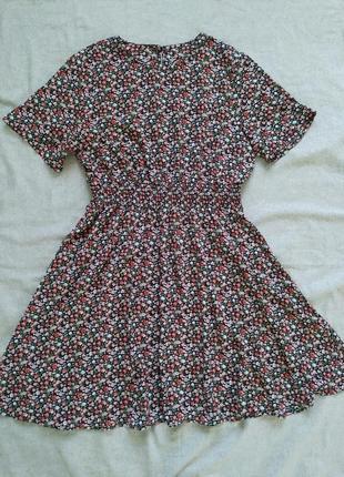 Платье в цветочек плаття в квіточки shein