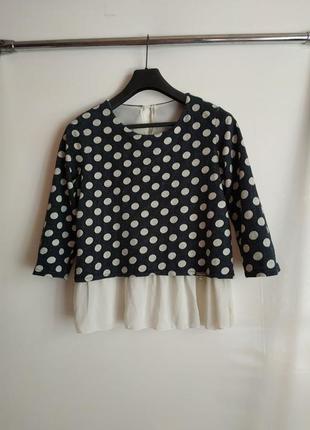 Блузка с красивой спинкой