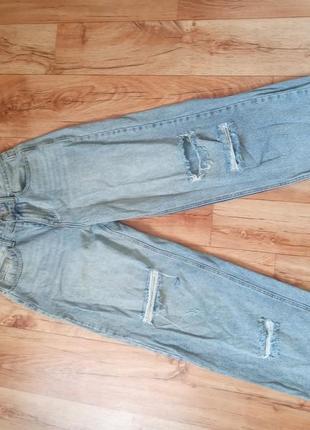 Широкие джинсы палаццо,мом,бойфренд