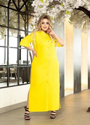Потрясающе стильное и красивое платье - рубашка