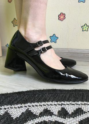Шикарные кожаные туфли французкого бренда what for