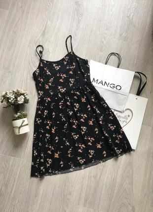 🌷сарафан платье в цветочный принт