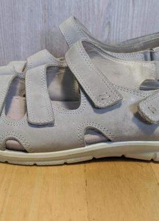 Ecco - кожаные босоножки, сандалии