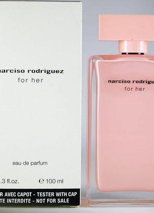 Парфюмированная вода narciso rodriguez for her нарциско родригез