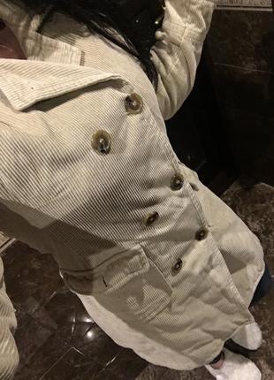 Невероятное брендовое пальто ольстер тренч ельветовый осень весна теплый