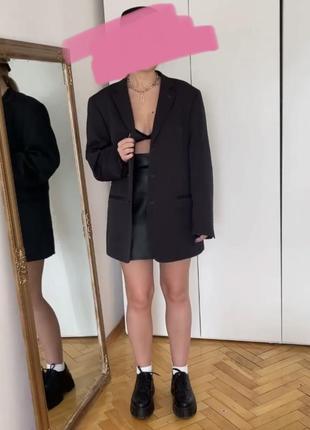 Пиджак с мужского плеча, оверсайз пиджак, тренд