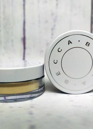 Освежающая матирующая пудра becca hydrmist set & refresh powder