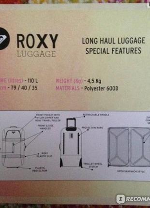 Чемодан / валіза roxy оригінал5 фото