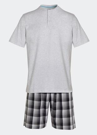 Размер м стильная хлопковая пижама из англии
