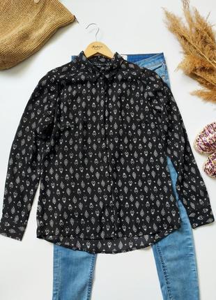 Легкая рубашка блуза amisu