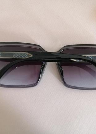 Эксклюзивные брендовые квадратные серые солнцезащитные женские очки 2021 окуляри