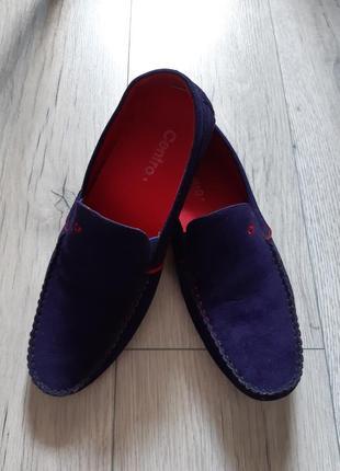 Туфли слипоны мужские