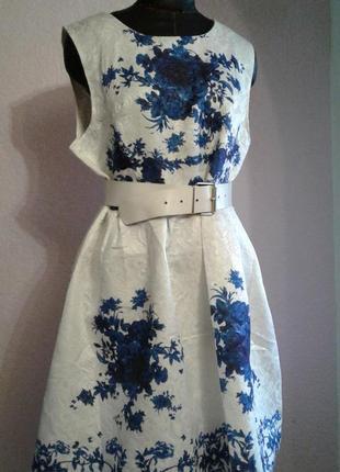 Нереальное белое платье