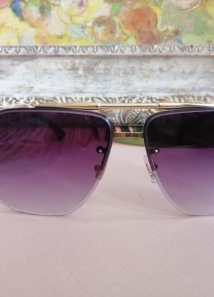 Эксклюзивные брендовые солнцезащитные очки унисекс металлической оправе 20213 фото