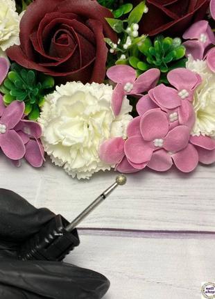 Фреза алмазная шар 4 мм для аппаратного маникюра