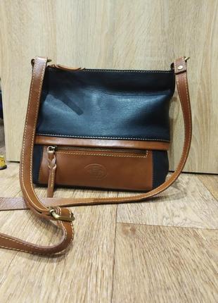 Кожаная сумка rowallan